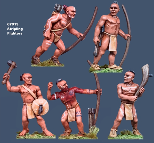 Iroquoian Stripling Fighters