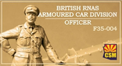 British RNAS Armoured Car Division Officer