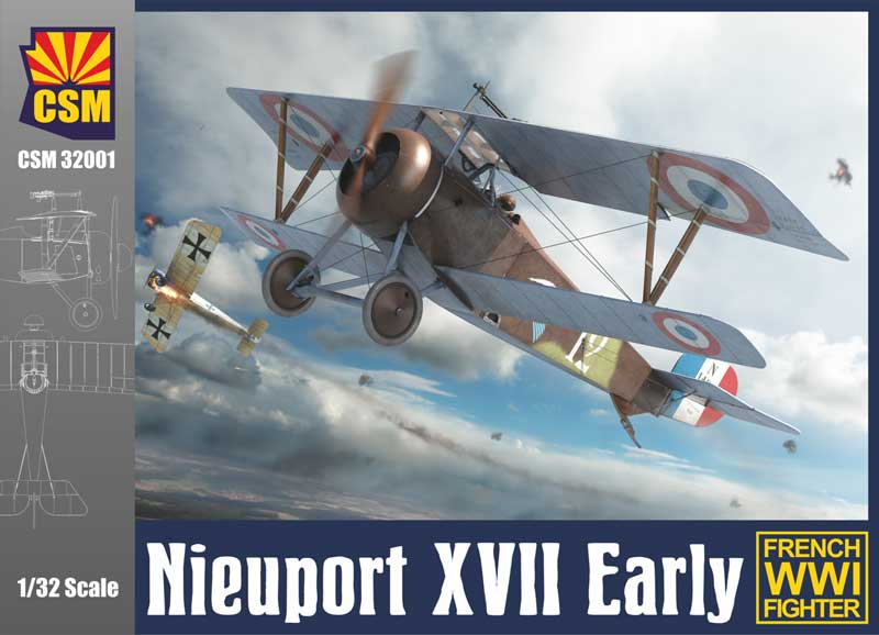 WWI Nieuport XVII Early