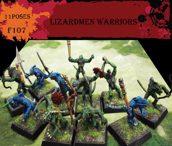 Fantasy Series: Lizardmen Warriors