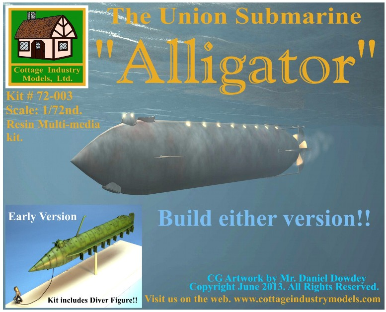 The Union Submarine Alligator