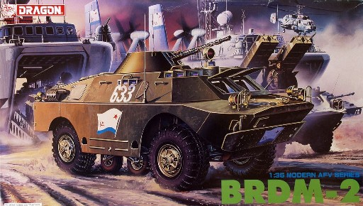 Soviet BRDM2 4x4 Scout Vehicle