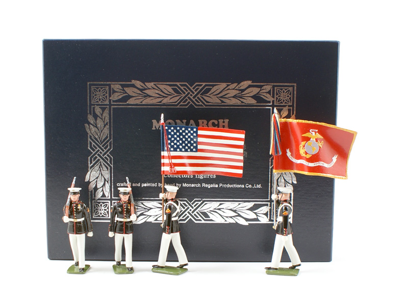 Monarch Miniatures/TedToy USMC Colour Party #09 Gloss Finnish NIB 1 Available OOP