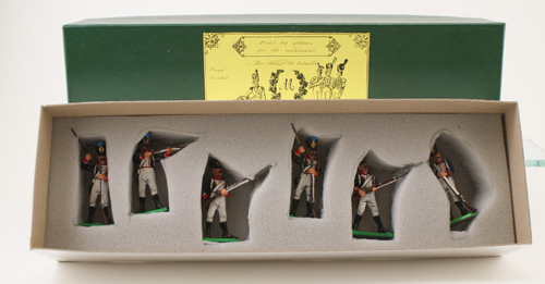 Mulberry Miniatures #FN62 105th Of The Line