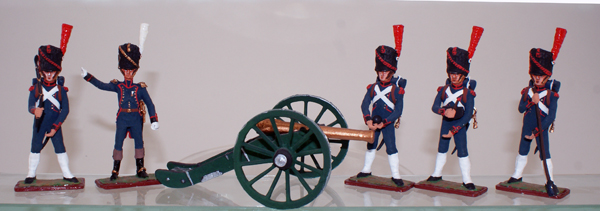 Sinius French Artillery Set by Sinius