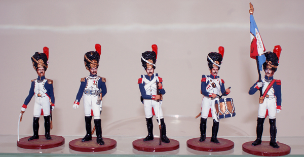 Sinius Napoleonic French Old Guard 1st Foot Grenadiers by Sinius