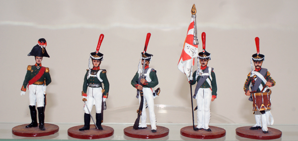 Napoleonic Russian Life Guard Preobrazhensky Regiment by Sinius