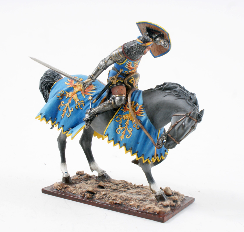 Mounted Knight With Sword ref.ME18-1 Available OOP