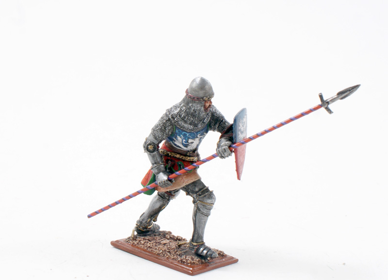 Knight Running With Lance ref.3917-1 Available OOP