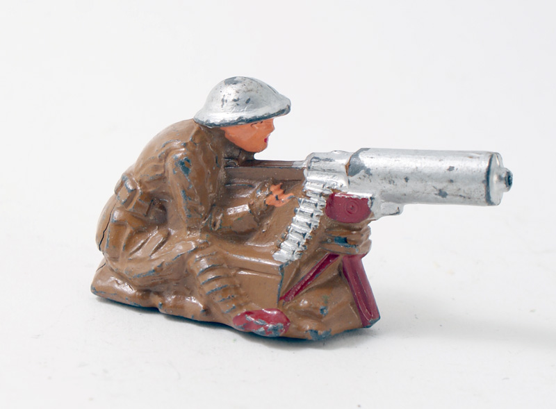 US SOLDIER SEATED FIRING MG 1 AVAILABLE OOP