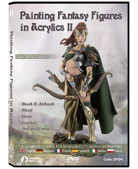 Andrea DVD- Painting Fantasy Figures in Acrylics II