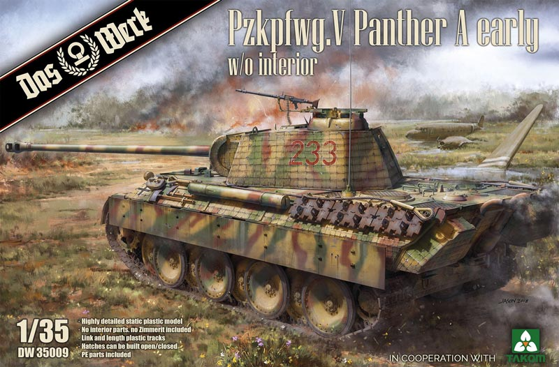 Pz.Kpfw.V Panther A Early (without Interior)
