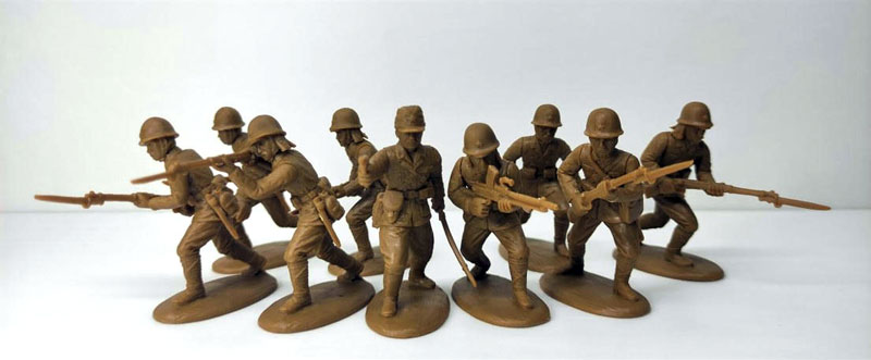 WWII Japanese Infantry – Rifle Section