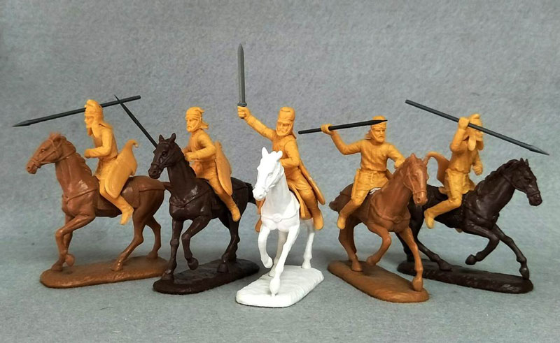 Ancient Persian Light Cavalry (Mounted Javeliners & Spearmen)
