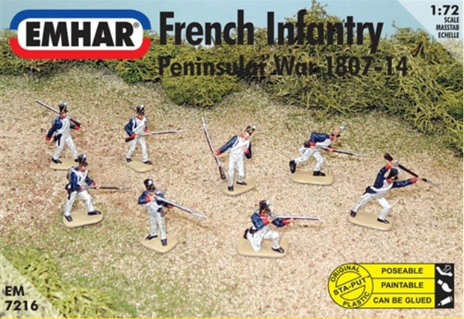 Napoleonic Peninsular War 1807-14 French Infantry