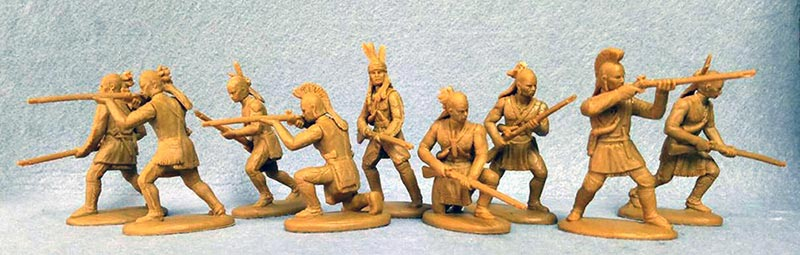 American Woodland Indians  (Tecumseh's Uprising) - War of 1812