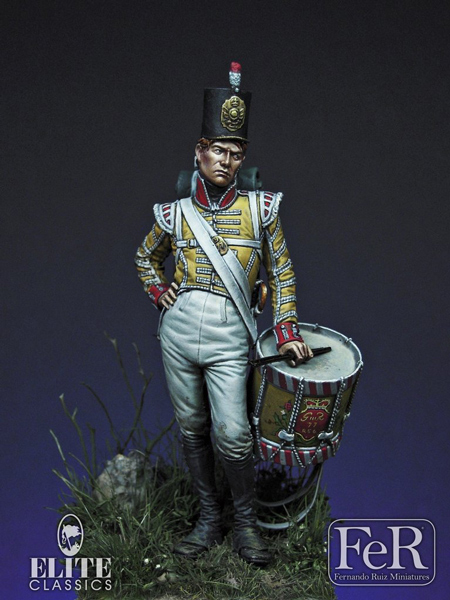 Drummer Boy, 77th East Middlesex, 1808