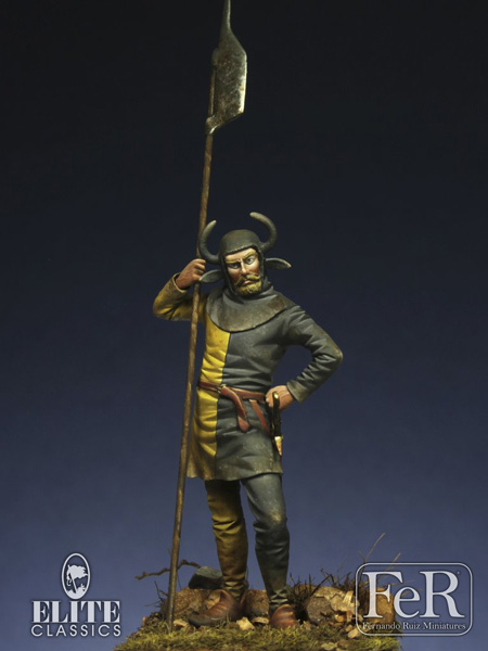 Swiss Halberdier 15th Century