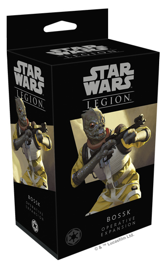 Star Wars: Legion - Bossk Operative Expansion - ONLY 1 AVAILABLE AT THIS PRICE