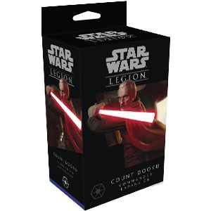 Star Wars: Legion - Count Dooku Commander Expansion - ONLY 1 AVAILABLE AT THIS PRICE