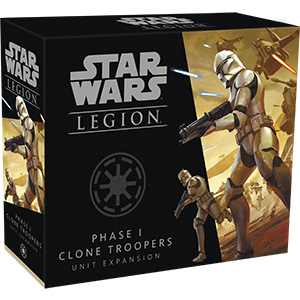 Star Wars: Legion - Phase I Clone Troopers Unit Expansion - ONLY 1 AVAILABLE AT THIS PRICE