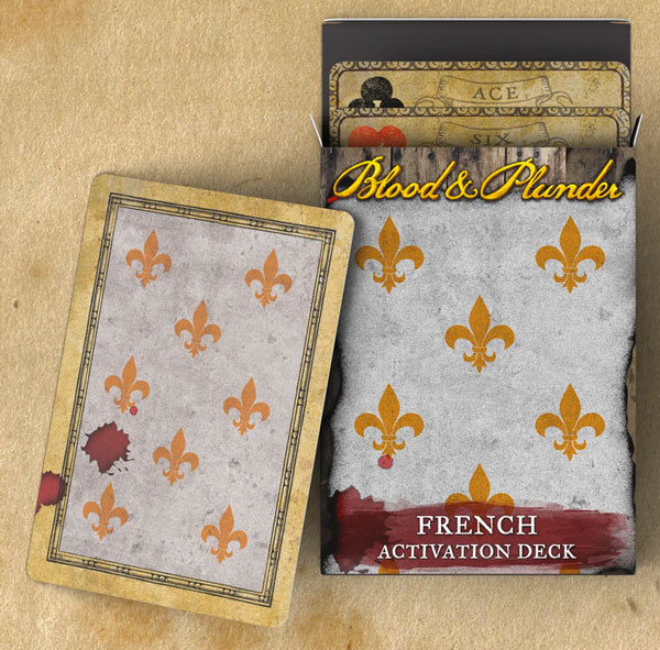 Blood and Plunder - French Activation Deck