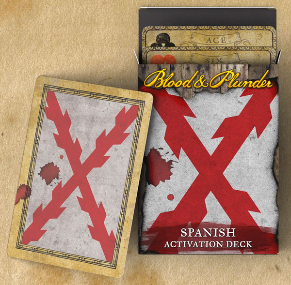 Blood and Plunder - Spanish Activation Deck