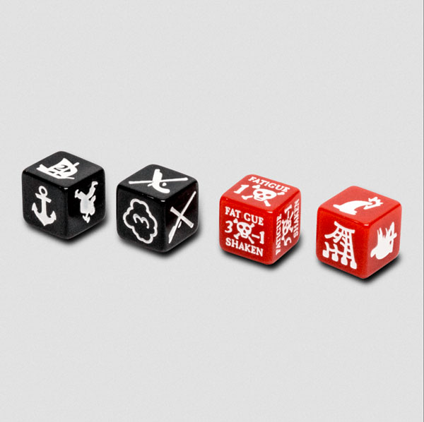 Blood and Plunder - Marker Dice Set