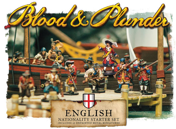 Blood and Plunder - English Nationality Starter Set