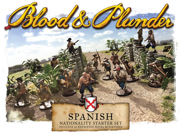 Blood and Plunder - Spanish Nationality Starter Set