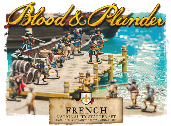 Blood and Plunder - French Nationality Starter Set