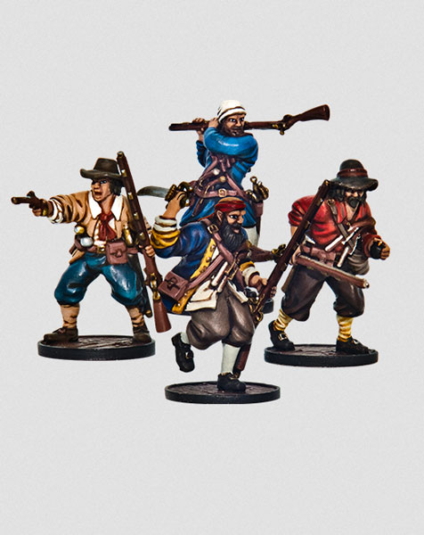 Blood and Plunder - Forlorn Hope Unit (Buccaneer Storming Party)