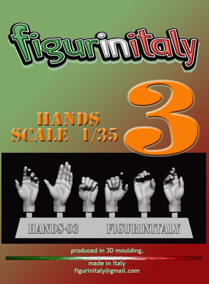1/35th Hands 3