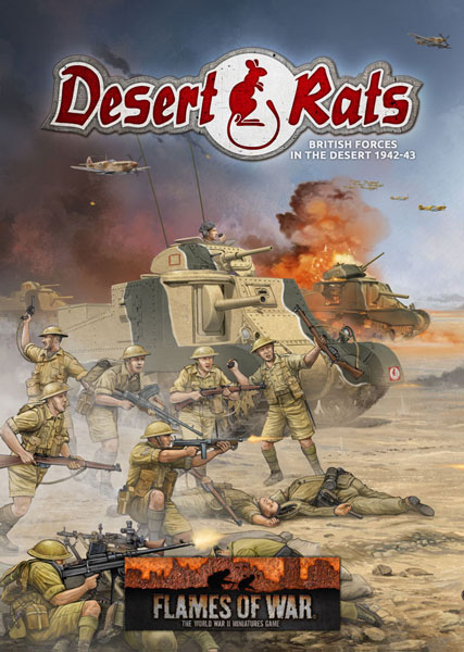 Desert Rats Army Book - ONLY 1 AVAILABLE AT THIS PRICE