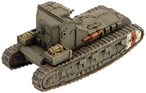 Great War: British Mark A Whippet Tank - ONLY 1 AVAILABLE AT THIS PRICE