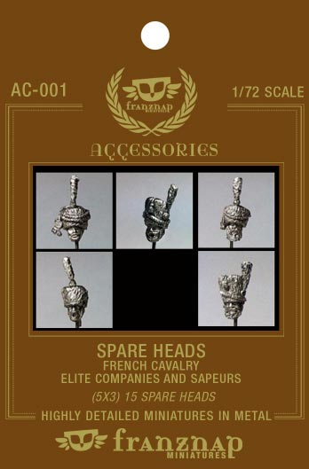 Spare Heads French Cavalry: Elite Companies & Sapeurs