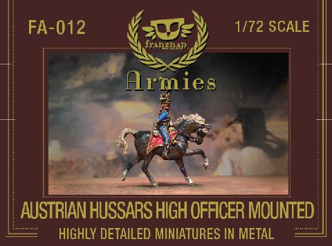 Austrian Hussar High Officer Mounted