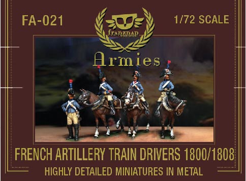 French Artillery Train Drivers 1800/1808
