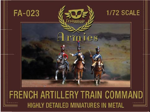 French Artillery Train Mounted Command