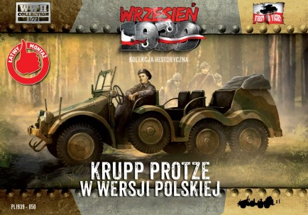 WWII Krupp Protze Polish Army Version Truck