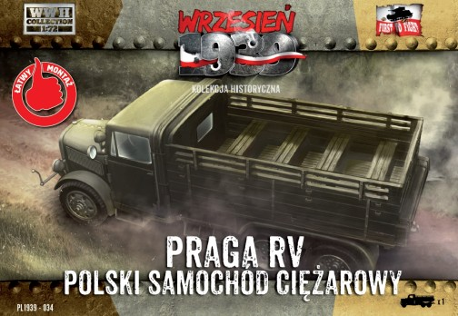 WWII Praga RV Troop Transporter in Polish Service
