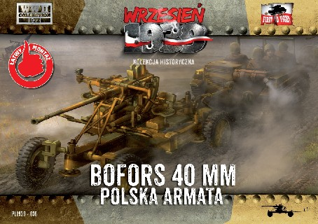 WWII Bofors 40mm Anti-Aircraft Gun