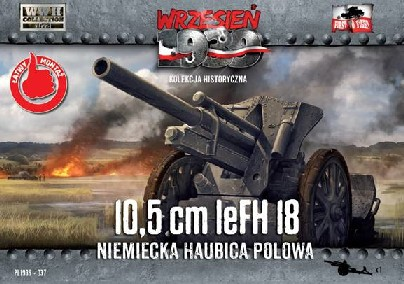 10.5cm leFH18 German Field Howitzer