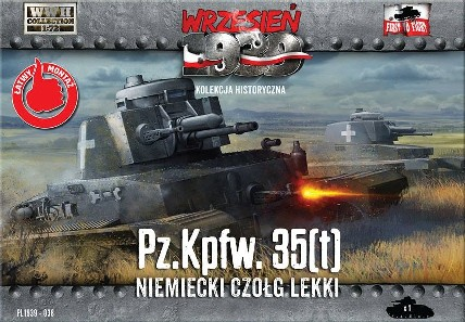 WWII German PzKpfw 35(t) Light Tank