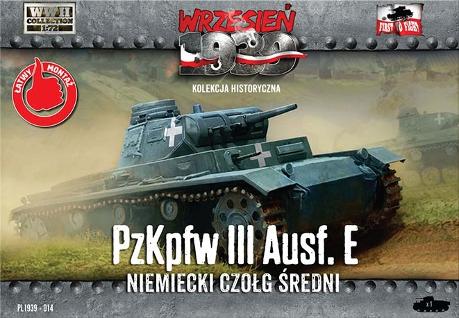 WWII German PzKpfw III Ausf E - ONLY 1 AVAILABLE AT THIS PRICE
