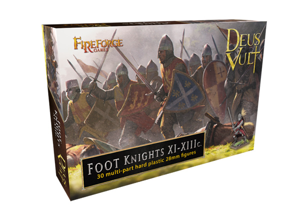 Fireforge Games - Foot Knights XI-XIIIc. (30)