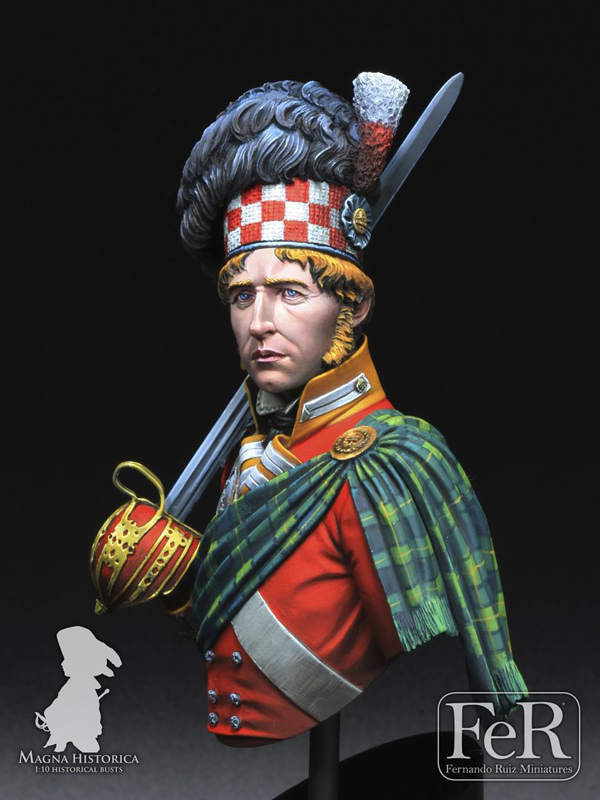 92nd Regiment of Foot, Gordon Highlanders, Waterloo, 1815