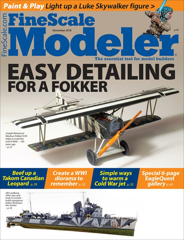 Fine Scale Modeler Magazine - November 2018