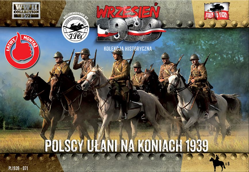 Polish Uhlans on Horseback 1939