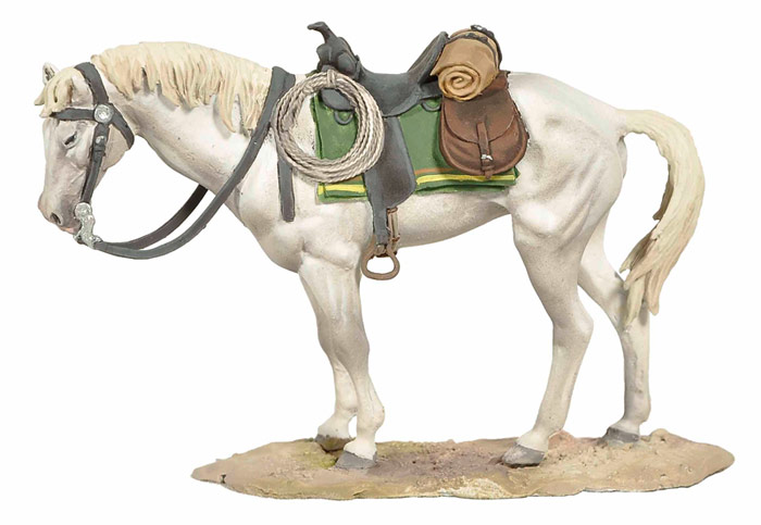 Standing Horse White - ONLY 1 AVAILABLE AT THIS PRICE